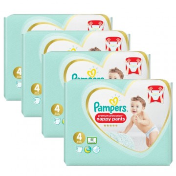 235 Couches Pampers Premium Protection Pants taille 4