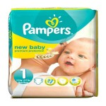 22 Couches Pampers Premium Protection taille 1