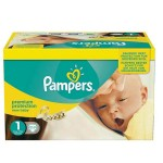 66 Couches Pampers Premium Protection taille 1