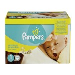 132 Couches Pampers Premium Protection taille 1