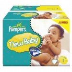 220 Couches Pampers Premium Protection taille 1