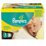 396 Couches Pampers Premium Protection taille 1