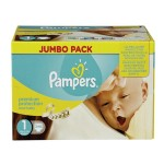 440 Couches Pampers Premium Protection taille 1