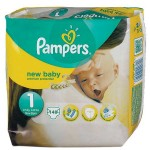 462 Couches Pampers Premium Protection taille 1