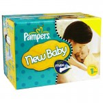 484 Couches Pampers Premium Protection taille 1