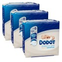 72 Couches Dodot Protection Plus Sensitive taille 0