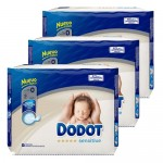 144 Couches Dodot Protection Plus Sensitive taille 0
