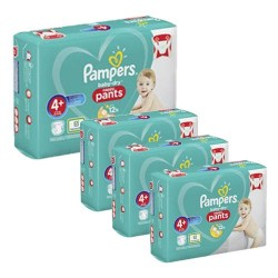 246 Couches Pampers Baby Dry Pants taille 4+