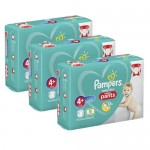 328 Couches Pampers Baby Dry Pants taille 4+