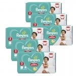 152 Couches Pampers Baby Dry Pants taille 3
