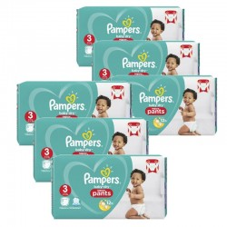 285 Couches Pampers Baby Dry Pants taille 3