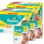 156 Couches Pampers Premium Protection taille 2