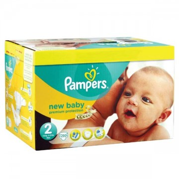 Giga pack 208 Couches Pampers Premium Protection taille 2