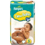 68 Couches Pampers New Baby Premium Protection taille 3