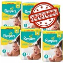 58 Couches Pampers Premium Protection taille 3