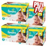 406 Couches Pampers Premium Protection taille 3