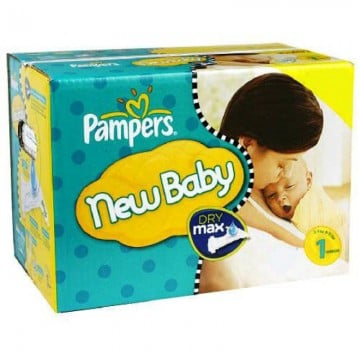 168 Couches Pampers Premium Protection taille 1