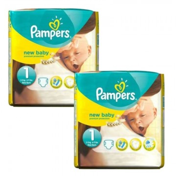 224 Couches Pampers Premium Protection taille 1