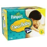 504 Couches Pampers Premium Protection taille 1