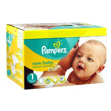 560 Couches Pampers Premium Protection taille 1