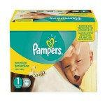672 Couches Pampers Premium Protection taille 1