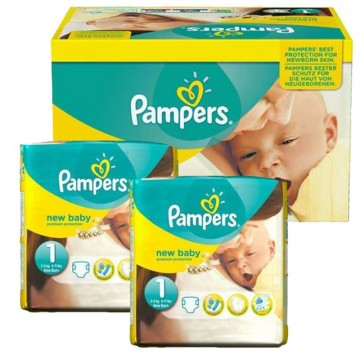 896 Couches Pampers Premium Protection taille 1