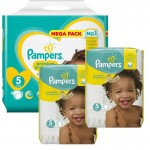 340 Couches Pampers Premium Protection taille 5