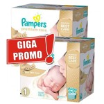 104 Couches Pampers Premium Care taille 1