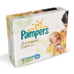 364 Couches Pampers Premium Care taille 1
