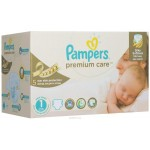 416 Couches Pampers Premium Care taille 1