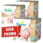 624 Couches Pampers Premium Care taille 1