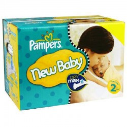 680 Couches Pampers New Baby Dry taille 2