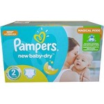 748 Couches Pampers New Baby Dry taille 2