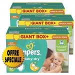 294 Couches Pampers Active Baby Dry taille 5