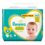 27 Couches Pampers Premium Protection taille 4