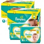 270 Couches Pampers Premium Protection taille 4