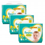 324 Couches Pampers Premium Protection taille 4