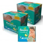 348 Couches Pampers Active Baby Dry taille 4+