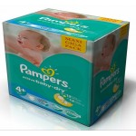 372 Couches Pampers Active Baby Dry taille 4+