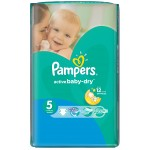54 Couches Pampers Active Baby Dry taille 5