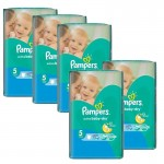 128 Couches Pampers Active Baby Dry taille 5