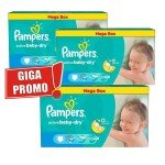 256 Couches Pampers Active Baby Dry taille 5