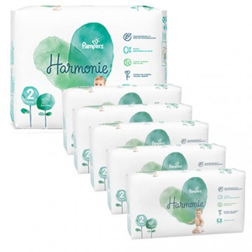 468 Couches Pampers Harmonie taille 2