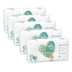 546 Couches Pampers Harmonie taille 2