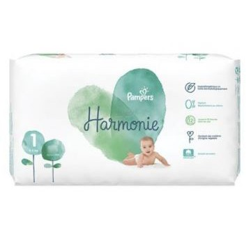 68 Couches Pampers Harmonie taille 1
