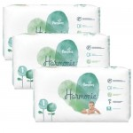 340 Couches Pampers Harmonie taille 1
