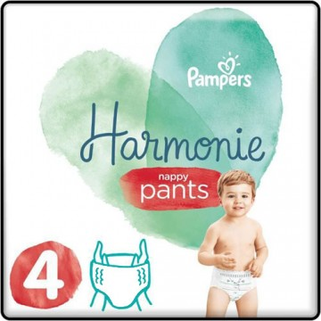 58 Couches Pampers Harmonie Pants taille 4