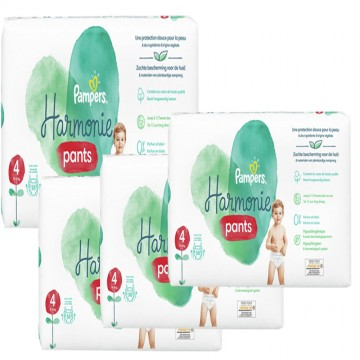 290 Couches Pampers Harmonie Pants taille 4