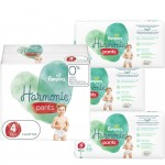 464 Couches Pampers Harmonie Pants taille 4