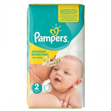 31 Couches Pampers Premium Protection taille 2